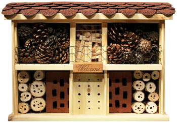 Insektenhotel Landhaus Komfort